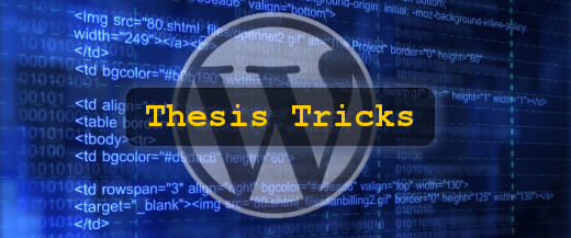 thesis-tricks-wordpress