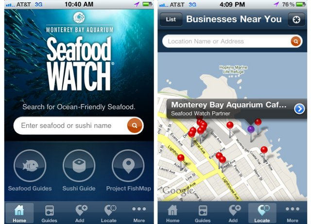 Seafood Watch-iPhone-App