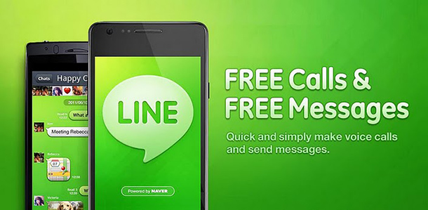 Line-Messaging-App
