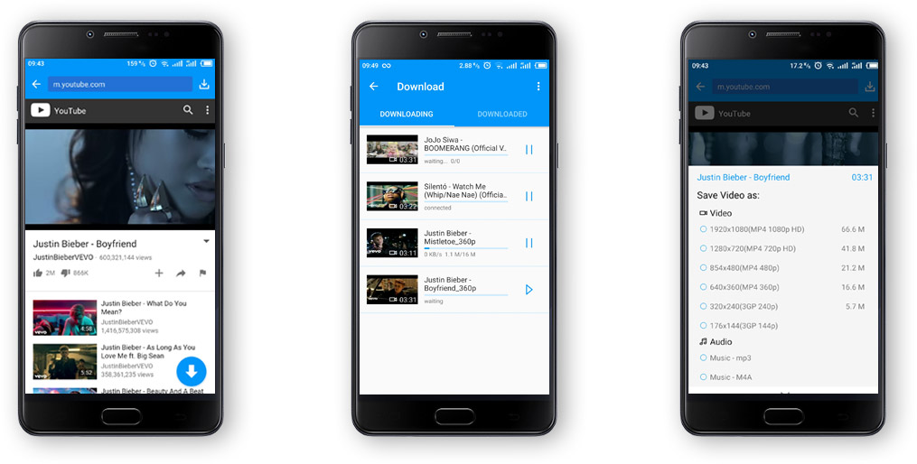 keepvid android batch download