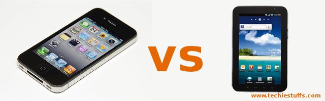 Galaxy Tab vs iPhone 4S