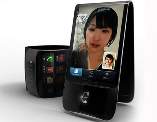 Kyocera's Flexible Folding Phone