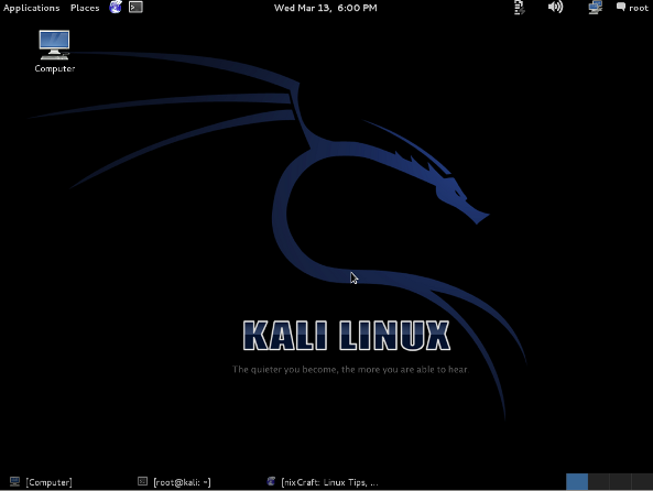 Kali Linux Screenshots