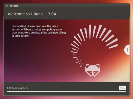 Ubuntu 13.04 Install screen