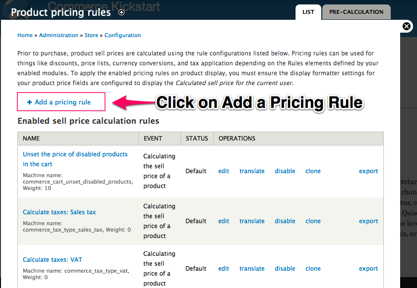 Product Pricing Rule 2