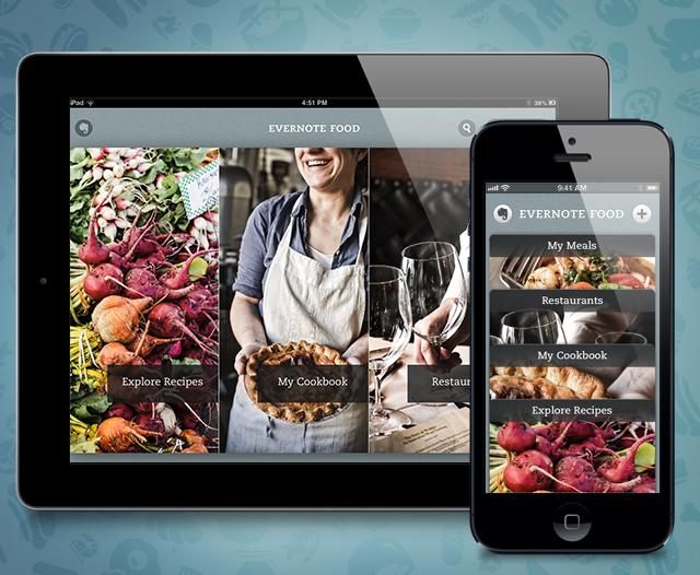 Evernote food app