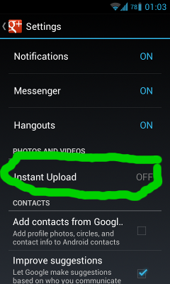 google-plus-android-app-settings
