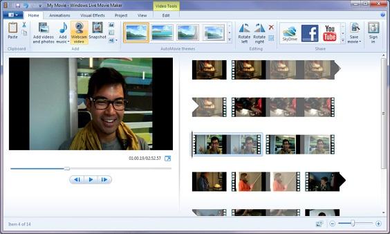 Windows Movie Maker 1