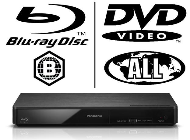 Panasonic DMP-BDT160 Bluray Player