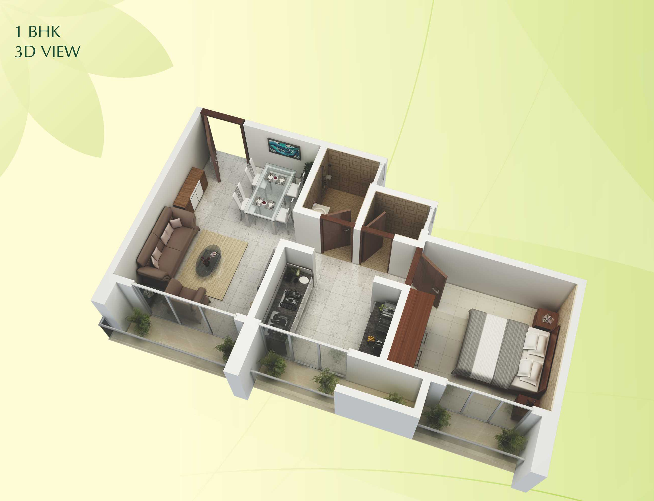 Flats for rent in Patna-1bhk-sample