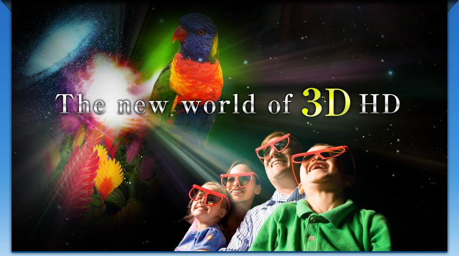 world of 3D media